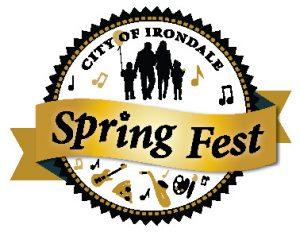 Irondale Spring fest logo