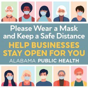 Please wear a mask